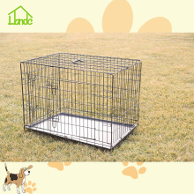 Factory direct folding dog cage crate