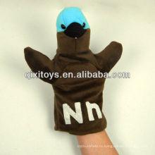 мягкие плюшевые птица животных марионетка руки