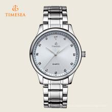 Мужские спортивные часы Водонепроницаемый Кристалл часы с нержавеющей стальной лентой 72357