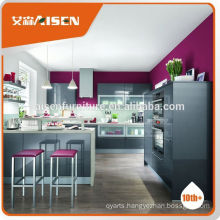Various models factory directly prefab MFC kitchen cupboard