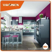 Vários modelos de fábrica diretamente pré-fabricados MFC armário de cozinha