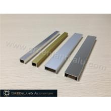 Perfil de aluminio Listello en dos tamaños