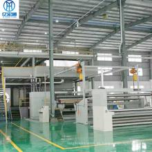 Línea de producción de no tejido Single S 1600mm