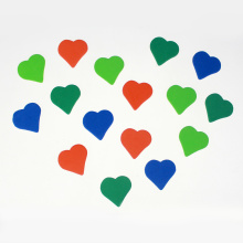 Craft Heart assortment foam diecut sticker