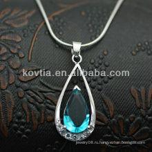 2014 новые бриллианты падения диаманта стерлингового серебра прибытия прибытия handmade