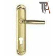 Golden Color Iron Material Door Handle