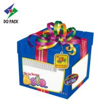 Birthday Cake Box Shape Zipper Pouch For Candy