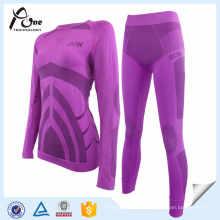 Sous-vêtements Set High Quality Women Ski Underwear