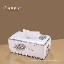 Home accessories decoration wholesales price retail quantity import silver plated tissue boxes