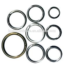 Popular Spring Ring Metal O Ring Zinc Alloy