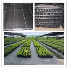 100% Polypropylene (PP) Slit Film Woven Weed Control Ground Cover Membrane Landscape Fabric