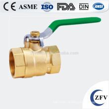 ZFV-BV-15 ~ dn20 25 polegadas a válvula de esfera de latão mini