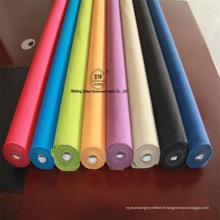 Tissu non tissé de nouvelle conception de couleur PP