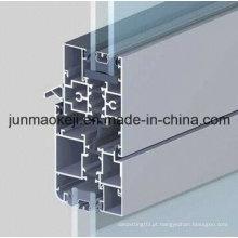 Perfil de janela de alumínio com ruptura térmica