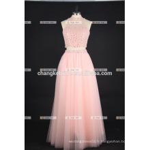 Magnifique robe de soirée Long Tulle perlée pour les femmes
