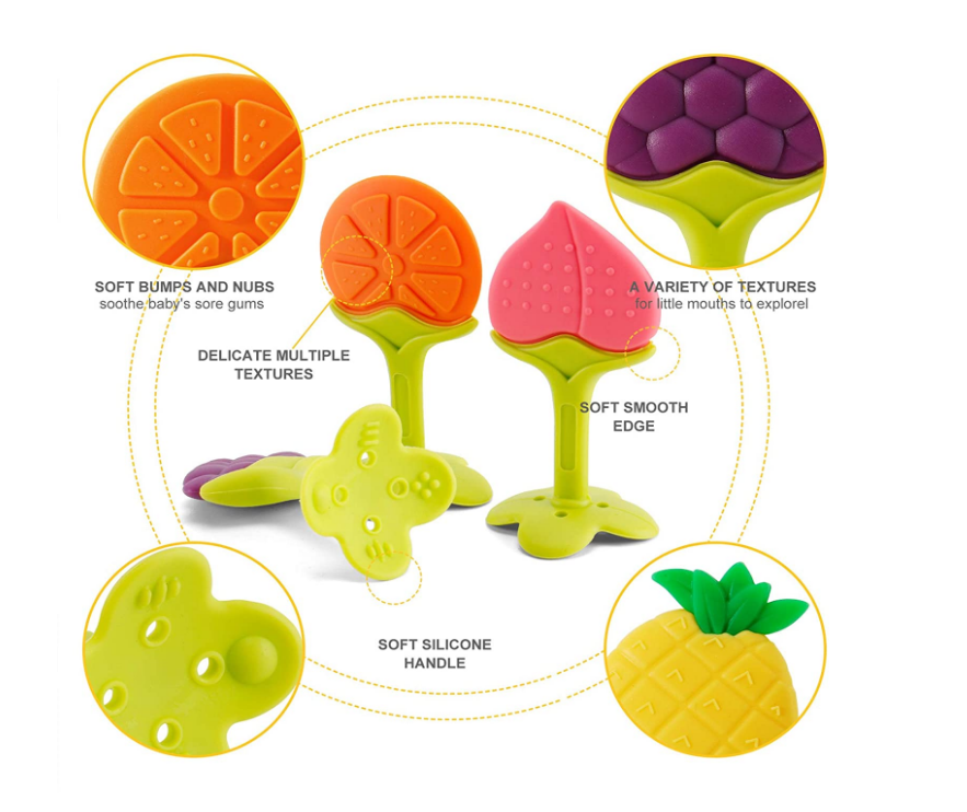 Silicone Fruit Teether