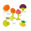 Custom Silicone Baby Fruit Teething Toys