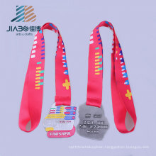 2016 Embossed Finisher Running Sports Metal Medal Hanger
