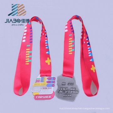 2016 Embossed Finisher Running Sports Metal Medal Hanger