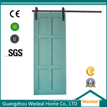 Sliding Barn Six Panel MDF Wooden Interior Room Door