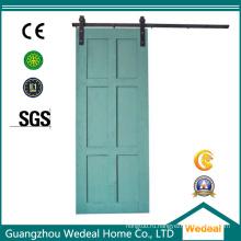 Раздвижные сарай шести панели МДФ деревянные межкомнатные двери
