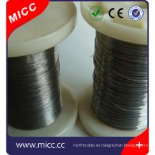 CuNi44 CuNi 23 CuNi 6 Aleaciones de cobre y níquel con resistividad media y baja temperatura para resistencias de control y termopares