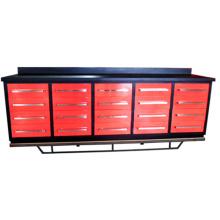 Cofre de herramientas de banco de trabajo profesional de metal de venta directa de la fábrica para el almacén