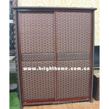 PE Rattan Wicker Wardrobe Bp-C29