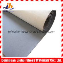 Tecido de couro reflexivo de PVC para sapatos