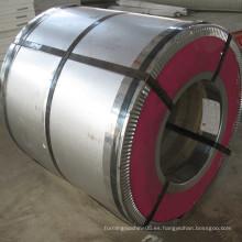 Material de construcción Bobinas laminadas de acero de color