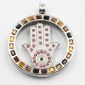 Custom Made 316L Stainless Steel Locket Pendant for Gift
