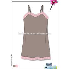 Art und Weise beiläufiges nahtloses Mädchen-Sommerkleid, nahtloses reizvolles Nachtkleid
