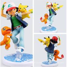 Eco-Friendly Personalizado Pokemon PVC Mini Figura Boneca Crianças Brinquedos