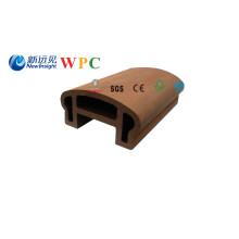 Pasamano compuesto plástico de madera de 100 * 50m m con CE, SGS de Fsg, certificado (LHMA050)