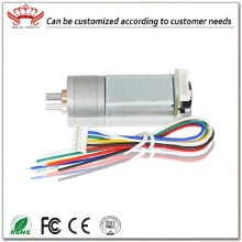 Micro Dc Brushed Gear Motor met encoder