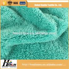 Todo o grupo de idade costume tingiu rolo feito sob encomenda do tecido da toalha do microfiber