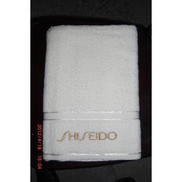 5Star White Embroidery Dobby Bath Towel