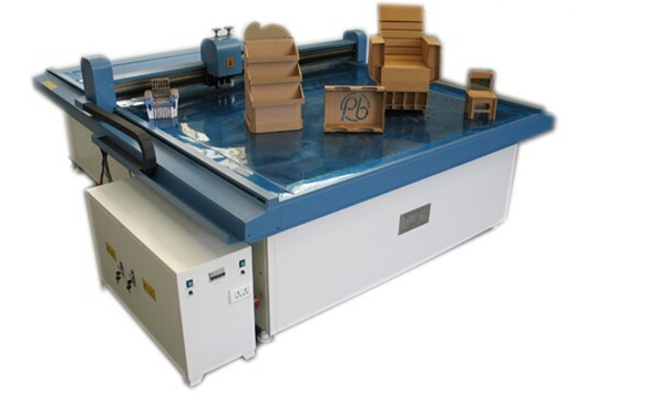Carton box sample computerized cutting machine