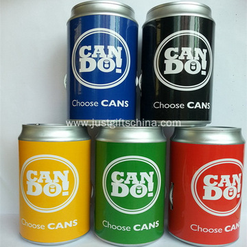 Promotional Cans Shaped Portable Radio