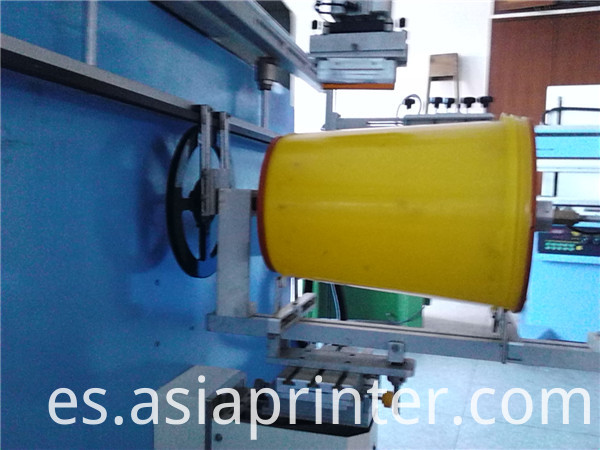 oil bucket Screen Printer