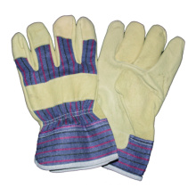 Pig Grain Full Palm Glove, Leather Work Glove