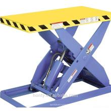 Petite table élévatrice hydraulique stationnaire / à ciseaux / table élévatrice électrique