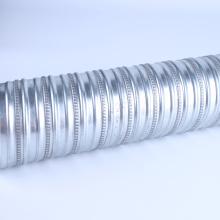 Flat Round Galvanized Corrugated Tube Culvert Duct