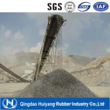 Transmettre la bande transporteuse en caoutchouc industriel sable