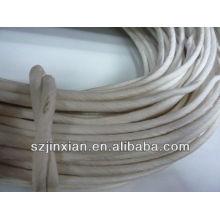 fábrica que envía el cordón de papel redondo natrual marrón de 2m m
