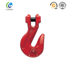 Iron galvanized clevis grab hook