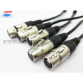 XLR 5pin Perempuan Jack Mikrofon Audio Connector