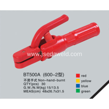 Non Hand Burnt Type Electrode Holder BT600A-2
