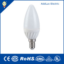 CE UL 220V SMD 3W E14 LED Candle Lamp