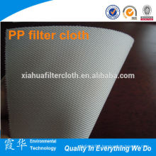Hot sale polypropylene pan filter cloth for cement plant